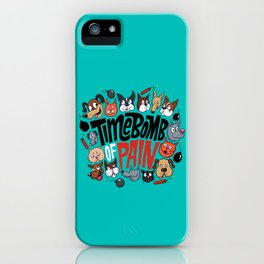 Time Bomb of Pain iPhone Case