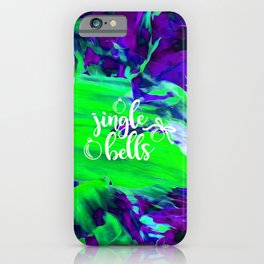 Abstract Jingle Bells iPhone Case
