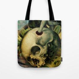Trepanation (Skull) Tote Bag