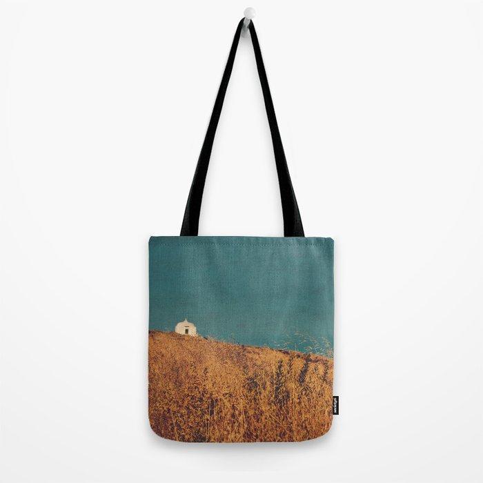 field landscape Tote Bag