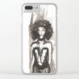 Effected Clear iPhone Case