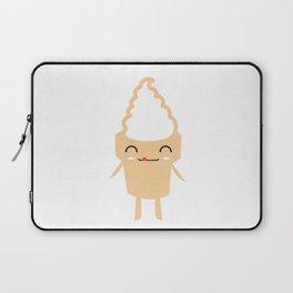 CUTE YUMMY SOFT SERVE ICE CREAM Laptop Sleeve