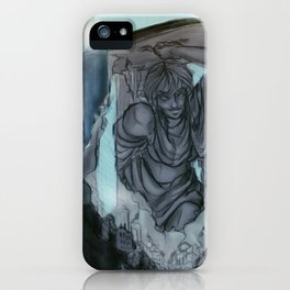 Waterfall Village iPhone Case