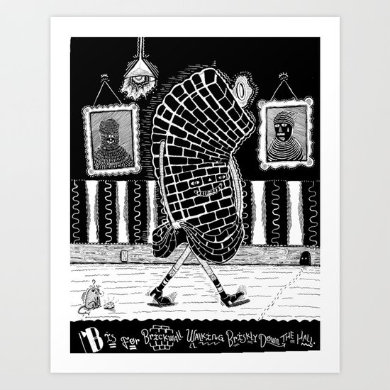 B is for... Art Print