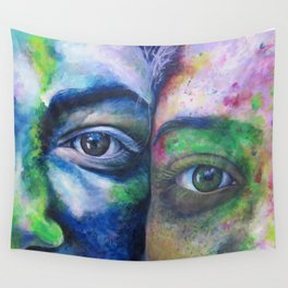 We Compliment Each Other Like Colors Wall Tapestry