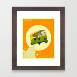 Everything Is Possible (sab kuch milega) Framed Art Print