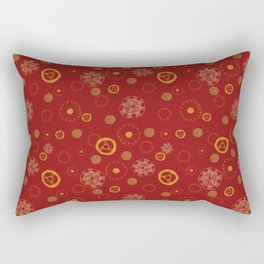 Arc Reactor Polka Dots Rectangular Pillow