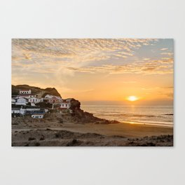 Sunset on the Costa Vicentina, Portugal Canvas Print