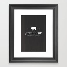 Great Bear Recreation Park Framed Art Print
