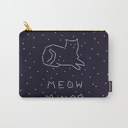 Cat Constellation (Meow Minor)  Carry-All Pouch