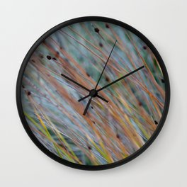 Grasses Wall Clock