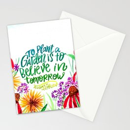 The Garden Of Tomorrow Stationery Cards