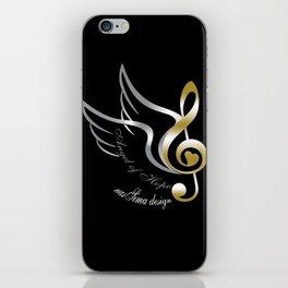 Angel of Hope Wings iPhone Skin