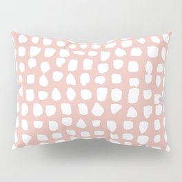 Dots / Pink Pillow Sham