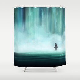 The First Gate Shower Curtain