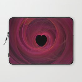 Valentine's Fractal I - Dark Laptop Sleeve