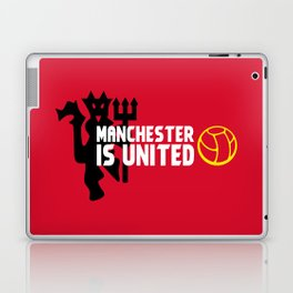 Manchester Is United Laptop & iPad Skin