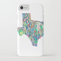 texas iPhone & iPod Cases featuring Texas by Laura Maxwell