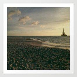 Sail Aruba Art Print