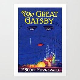 Great Gatsby - Scott F. Fitzgerald Art Print