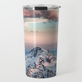 Mountain Sunset - Nature Photography Travel Mug