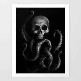 Skullapus Art Print
