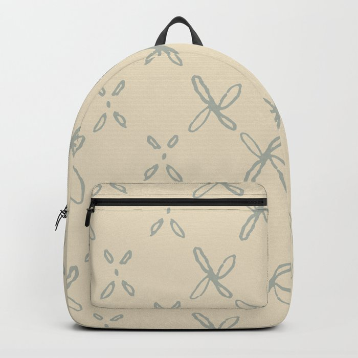 Abstract Astral Pattern in Yellow & Green Backpack