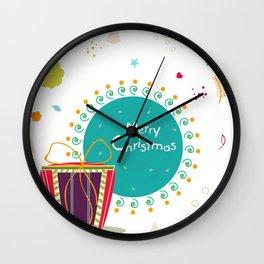 christmas 13 Wall Clock