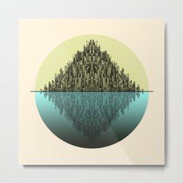 Infinite Cities 1 Metal Print