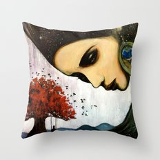 Time Can't Erase the Memory Throw Pillow