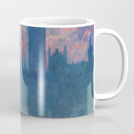 """Claude Monet """"The Houses of Parliament, at sunset"""" Coffee Mug"""
