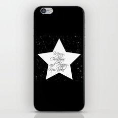 Merry Christmas & Happy New Year 1- Holidaze iPhone & iPod Skin