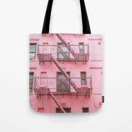 Pink Soho NYC Tote Bag