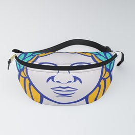 Ceres Roman Agricultural Deity Mascot Fanny Pack