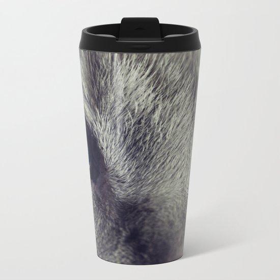 Cat Eye Metal Travel Mug