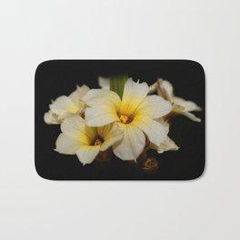 Yellow Mexican Satin Flowers Bath Mat