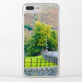 Roads of Windermere Clear iPhone Case
