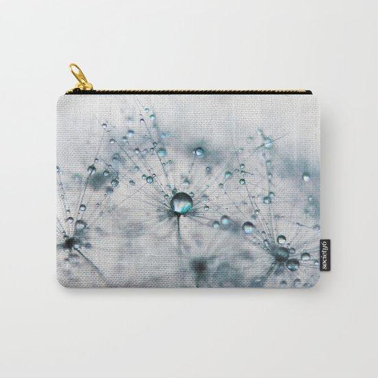 dandelion blue Carry-All Pouch