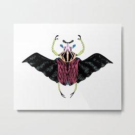Beetle #2 Color Metal Print
