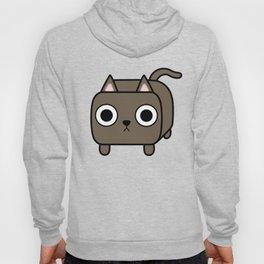 Cat Loaf - Brown Kitty Hoody