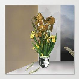 Das Licht der Pflanze Canvas Print