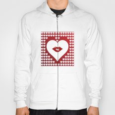 Loving Hearts and Lips Hoody