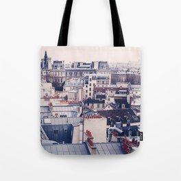 Paris Rooftops Reprise Tote Bag
