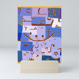 Paul Klee Inspired - The Nile #1 Mini Art Print