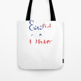Euclid Ohio Tote Bag
