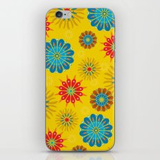 Psycho Flower Gold iPhone & iPod Skin