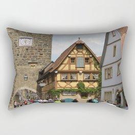 Rothenburg ob der Tauber Impression Rectangular Pillow