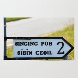 Craic agus Ceol Donegal Rug