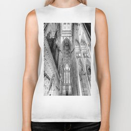 York Minster Art Sketch Biker Tank