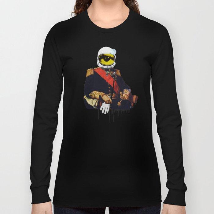 Space General Eye Man Long Sleeve T-shirt